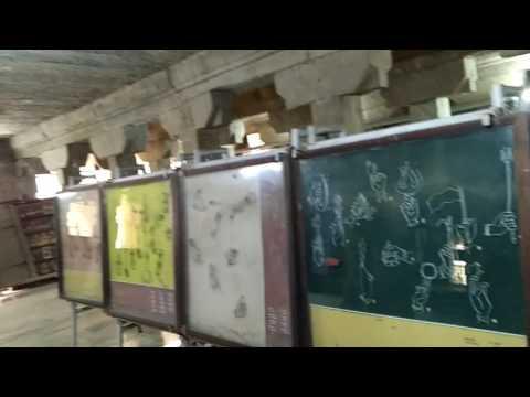 Art in thousand pillared hall in Madurai Meenakshi temple