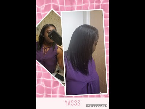 Dry Shampoo on Relaxed hair