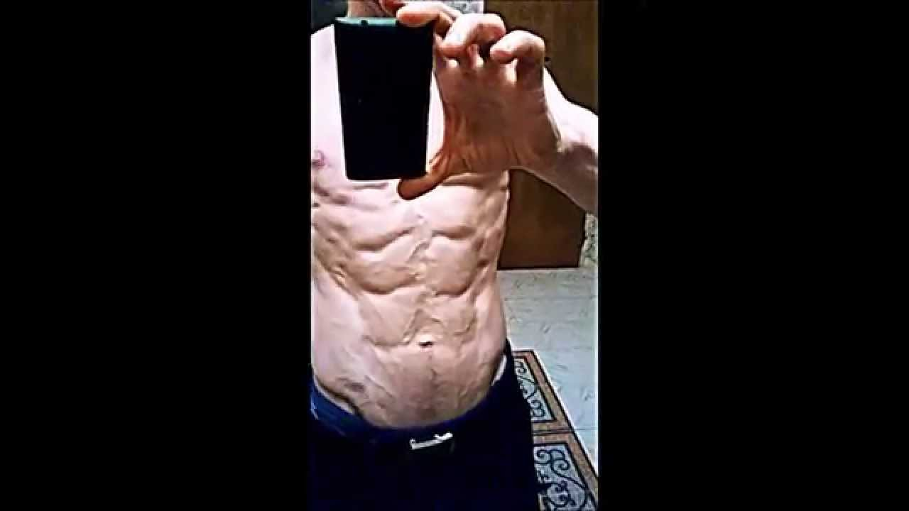 Body Fat Ripped Abs 33