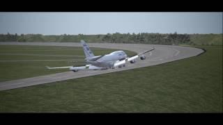 FSX 円形滑走路 Circular Endless Runway TEST thumbnail
