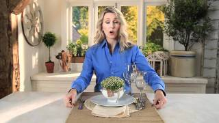 How To Add Texture To White Dinnerware | Pottery Barn
