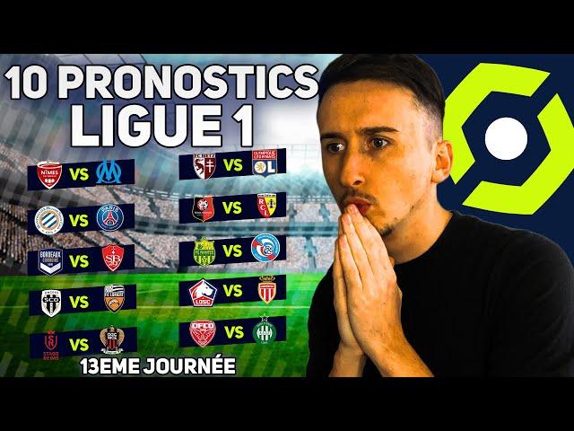 PRONOSTICS FOOT LIGUE 1 : Mes 10 pronostics du weekend (Nîmes - Marseille, MHSC - PSG etc)