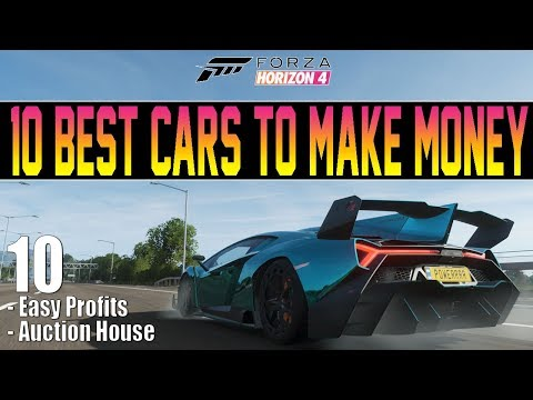 Forza Horizon 4 - 10 Best Cars To Make Money! - Buy & Sell On Auction House thumbnail