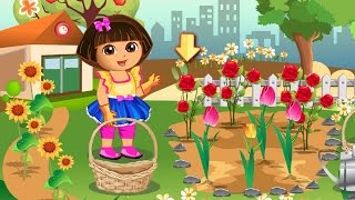 Dora The Explorer Online Games To Play - Dora Loves Flowers