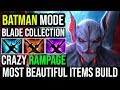 Most Beautiful Items Build Ever - Night Stalker All Blades For Crazy RAMPAGE 25KIlls Batman Dota 2