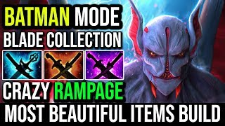 Most Beautiful Items Build Ever - Night Stalker All Blades For Crazy RAMPAGE 25KIlls Batman Dota 2