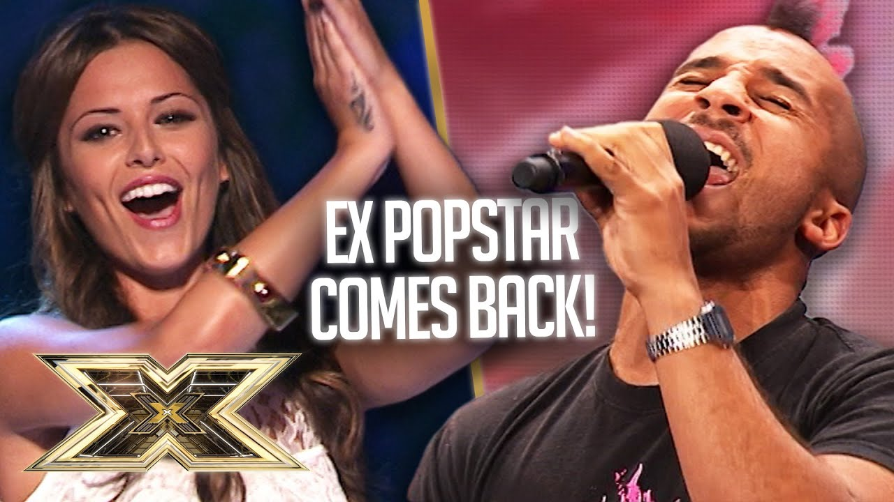 Ex-popstar Daniel Pierce proves he's still got it with AMAZING SEAL COVER! | The X Factor UK