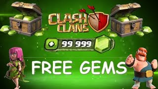EASIEST WAY TO GET FREE GEMS IN CLASH OF CLANS 2019!! NO SCAM!!