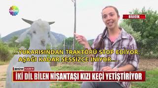 İki dil bilen Nişantaşı kızı keçi yetiştiriyor