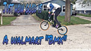 Are Walmart Bmx bikes worth it ??