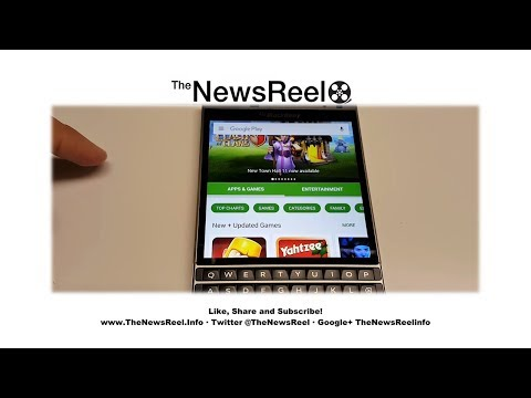 Google Services on BlackBerry Passport Silver Edition - The NewsReel
