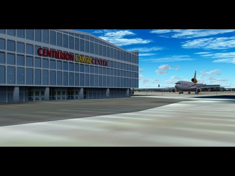 Centurion Air Cargo MD-11F   Miami to Snt. Maarten   KMIATNCM   IVAO