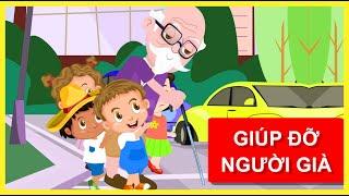 Phim hoạt hình trẻ em | Tập 3 -  Giúp đỡ người già người tàn tật | BINGO Và Các Bạn
