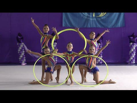Групповые упражнения 27 (обручи) ФСТУкраїна Художественная гимнастика