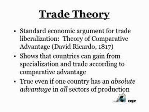 CEPR Seminar: Trade - What Are the Gains and Who Gets Them