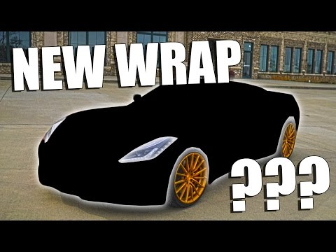 CORVETTE WRAP REVEAL!!!