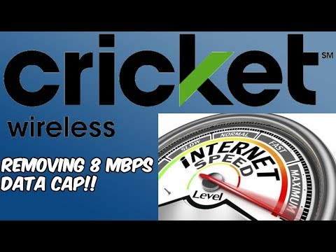 Cricket Wireless New Plan Coming (Removing 8mbps Data Cap!!) HD