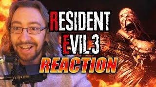 MAX REACTS: IT'S REAL! RE3 Remake - Trailer/Screenshots & More