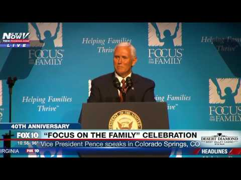 WATCH: Mike Pence Speaks of His Christian Faith Throughout Speech in Colorado Springs (FNN)