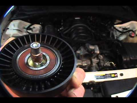 Belt Tensioner Arm And Idler Belt Pulley Good Vid Bad