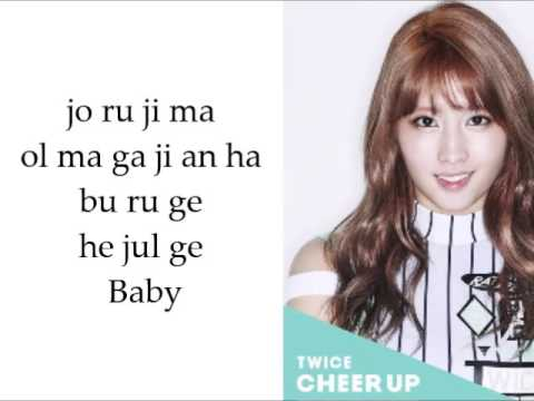 Twice   Cheer Up EASY LYRICS