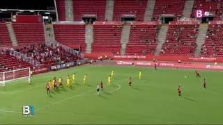 Gol Brandon 1-0. RCD Mallorca 1 - CF Reus 0. Eliminatoria Copa del Rey 16/17