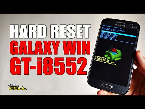 Hard Reset no Samsung Galaxy Win Duos (GT-I8552) #UTICell
