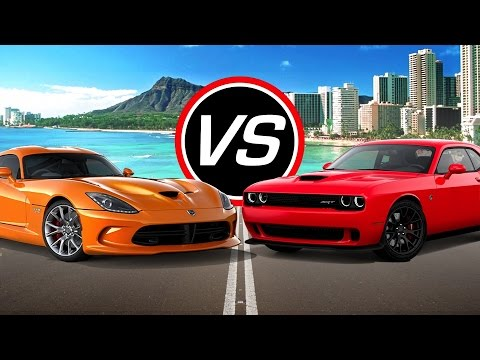 2016 Dodge Viper vs Challenger SRT Hellcat - Spec Comparison!