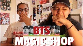 BTS 'Magic Shop' Lyric REACTION!!!
