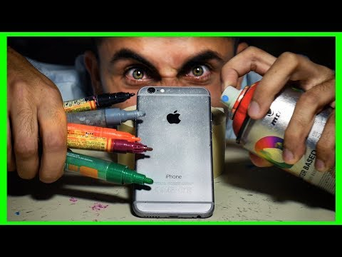 How to make CUSTOM IPHONE