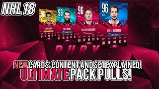NEW RUBY SETS! DETAILS IN HERE! 250+ PLAYER PACK OPENINGS! (NHL 18 HUT)