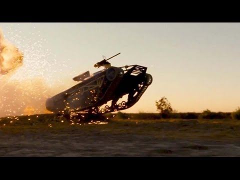 "Gi Joe 2 Retaliation Movie Clip # 1 ""The Tank"""