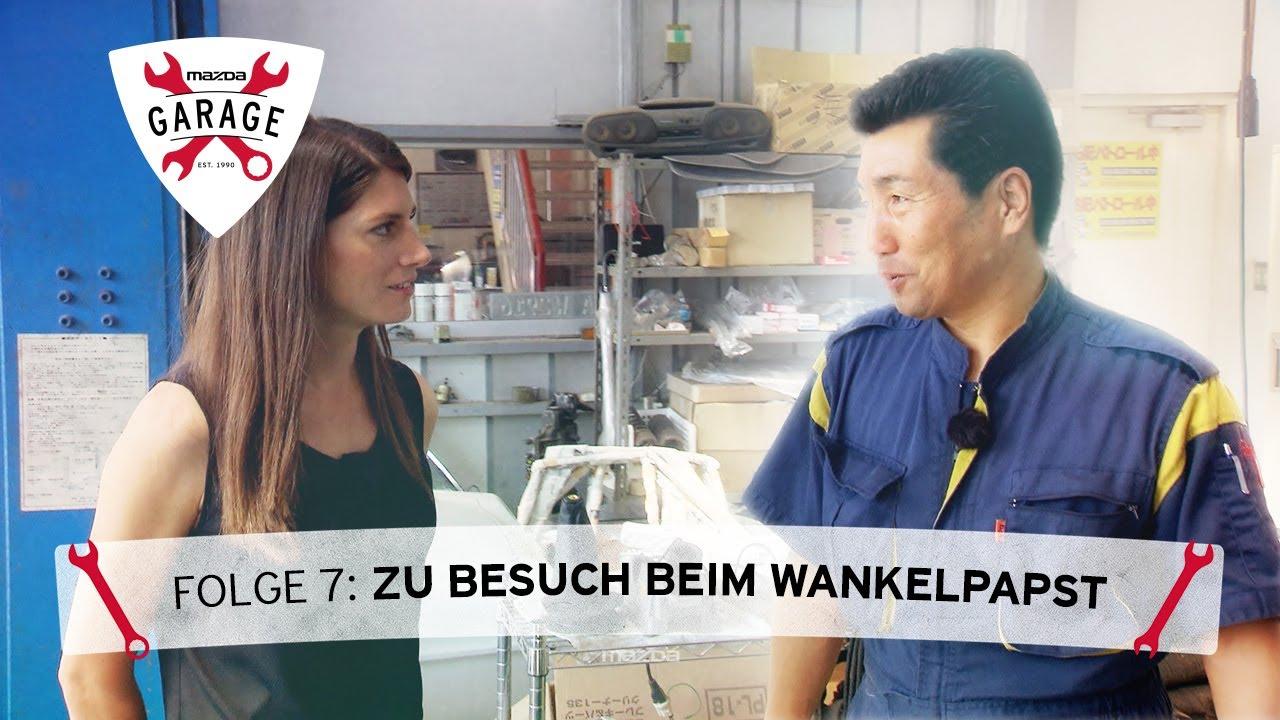 Mazda Garage mit Cyndie & Det: Folge 7 – Zu Besuch beim Wankelpapst