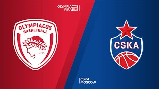 Olympiacos Piraeus - CSKA Moscow Highlights | Turkish Airlines EuroLeague, RS Round 26