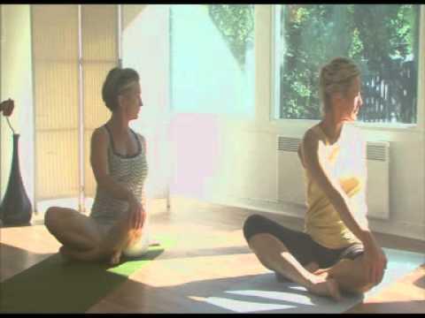 Yoga för rygg   nacke 210f530cbbb44