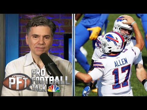 Josh Allen making case as elite NFL QB after Week 3 | Pro Football Talk | NBC Sports