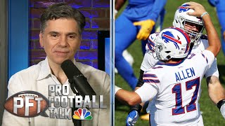 Josh Allen making case as elite NFL QB after Week 3 | Pro Football Talk | NBC Sports
