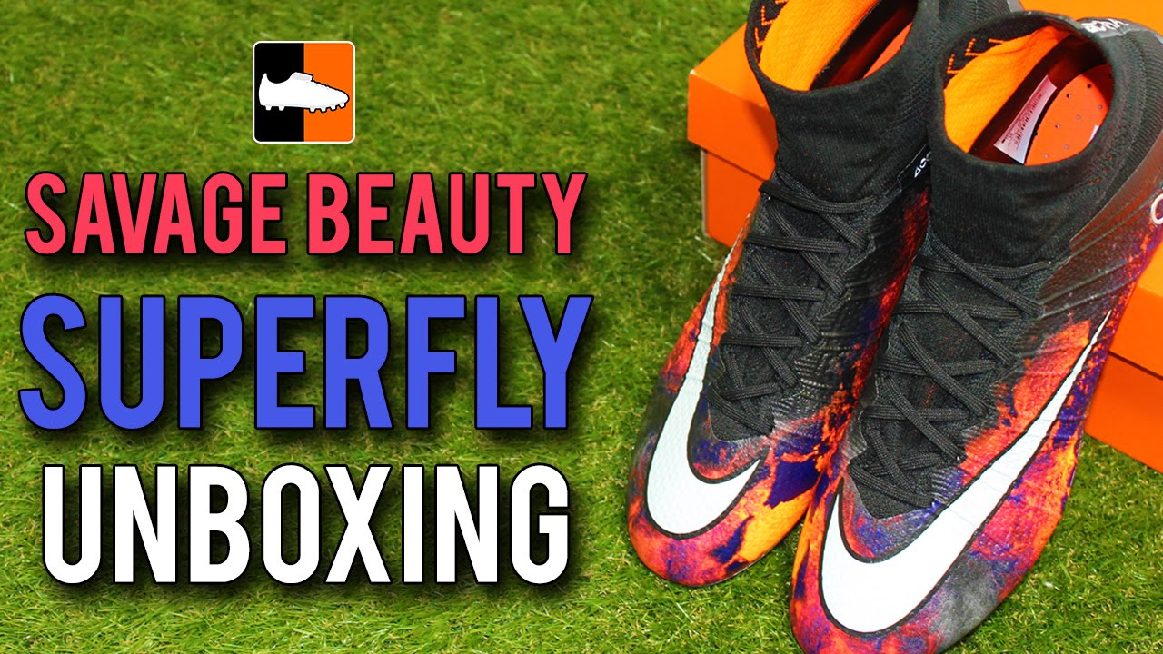 bed4041d4 Savage Beauty CR7 Superfly Unboxing - Cristiano Ronaldo Nike Mercurial  Boots - YouTube