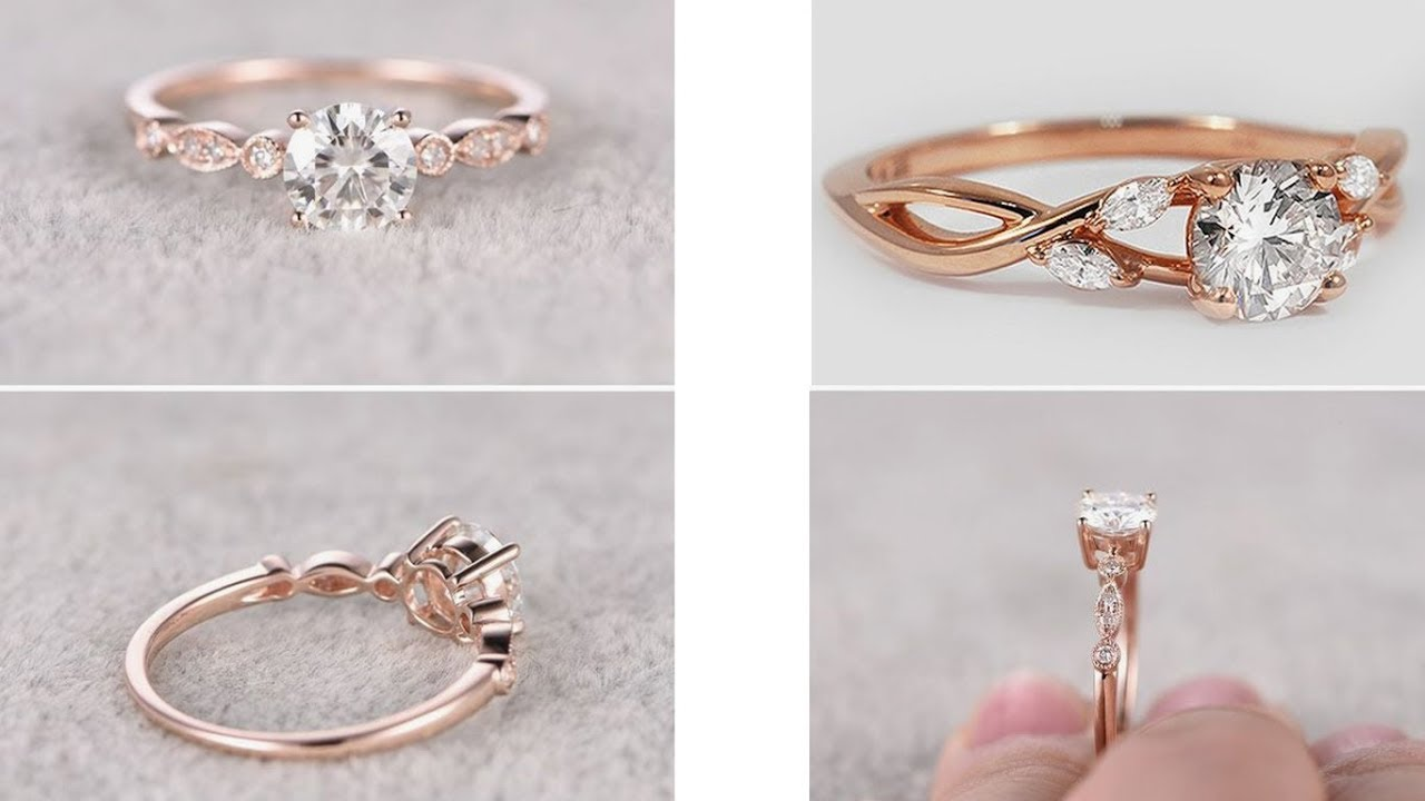 BEST & LATEST GOLD RING DESIGNS FOR GIRLS | Engagement Ring for ...