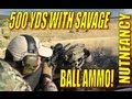 """""""500 yds with Savage 10FP .308, Ball Ammo"""" by Nutnfancy"""