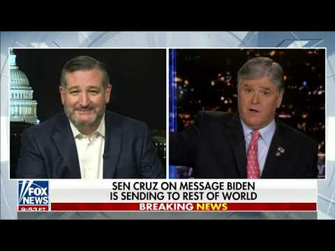 Cruz on Hannity: The Biden-Harris Administration Has Been a Domestic, Economic & Fiscal Disaster