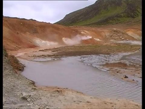 Krýsuvík geothermal area.  Iceland