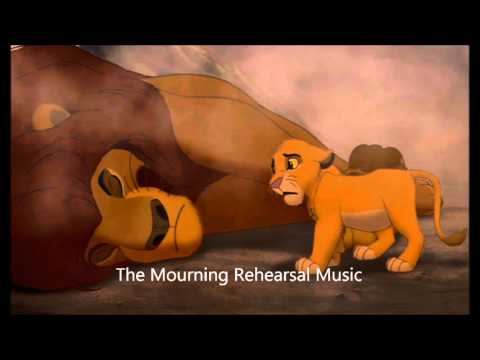 The Mourning Rehearsal Music