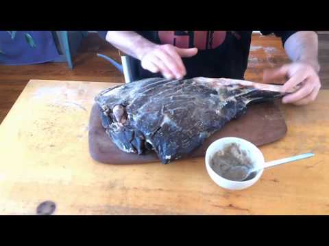 Deer Prosciutto - Part 2 - Lard and Hanging