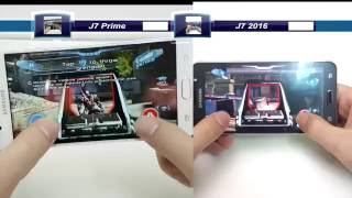 เปร ยบเท ยบ j7 pirme ก บ j7 2016