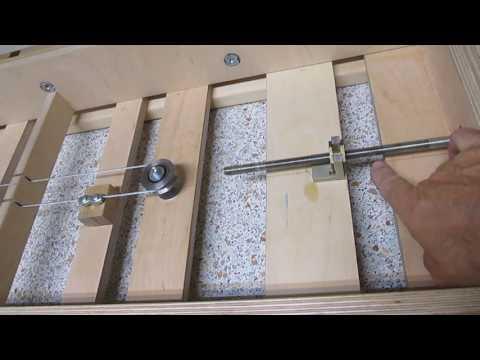 Фрезерный стол ( механизм равномерного поднятия стола )