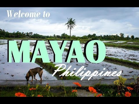 WAKING UP IN MAYAO PHILIPPINES- travel vlog (part 1)