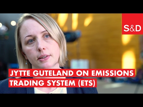 Jytte Guteland on the Emissions Trading System (ETS)