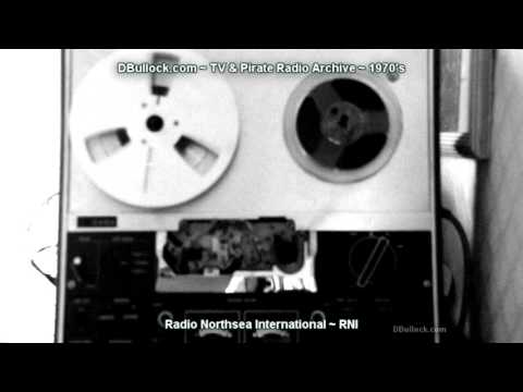 [1971] Radio Nothsea International ~ RNI ~ Reel to Reel tapes