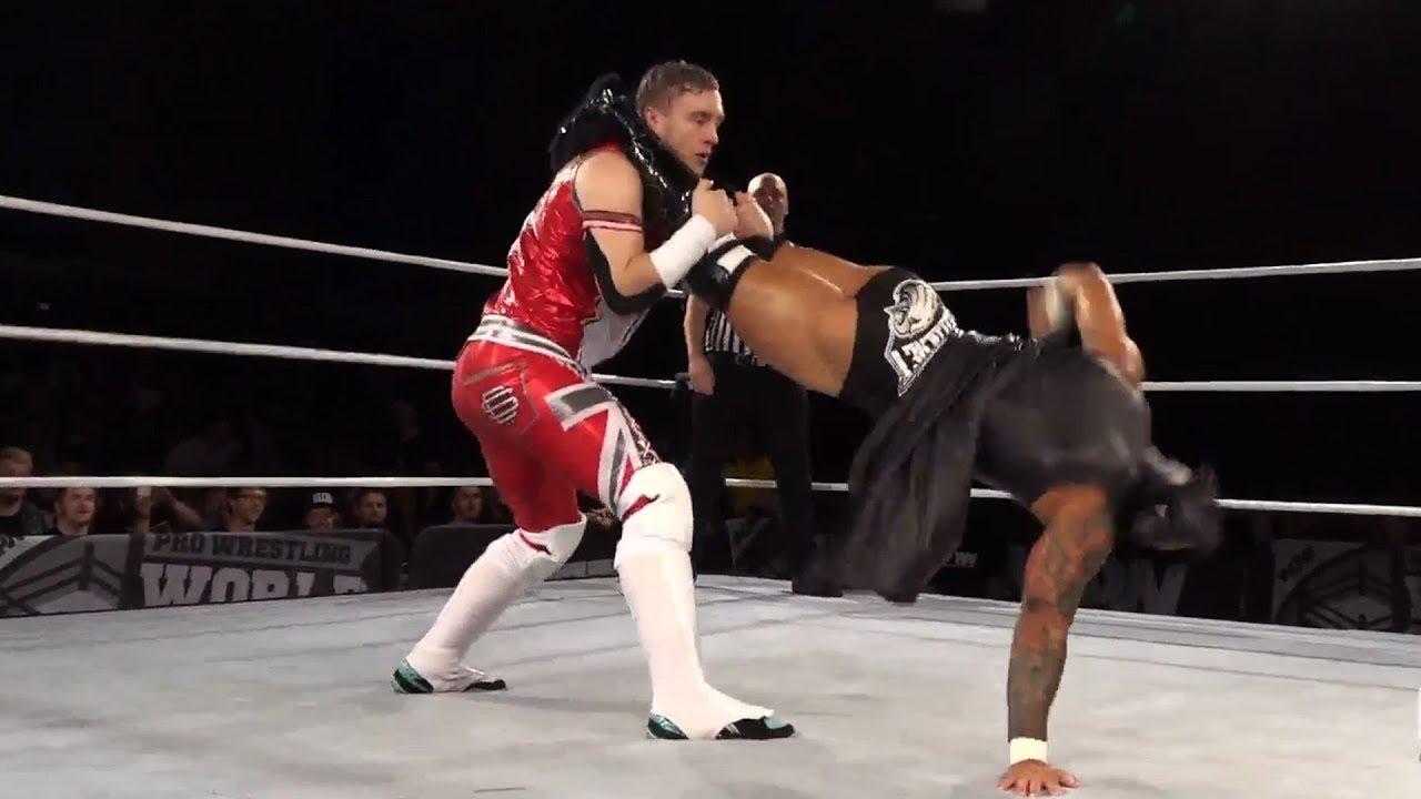 Will Ospreay vs. Ricochet - Semi Final Match (Pro Wrestling World Cup Finals)